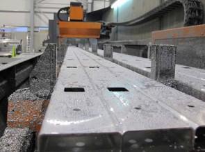Escalera de la producción de aluminio