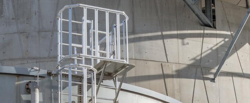 Las escaleras de crinolina VECTALADDER®
