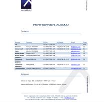 Informazioni di contatto Alsolu
