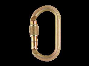 Mousqueton acier ovale
