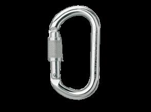 Mousqueton aluminium ovale ok