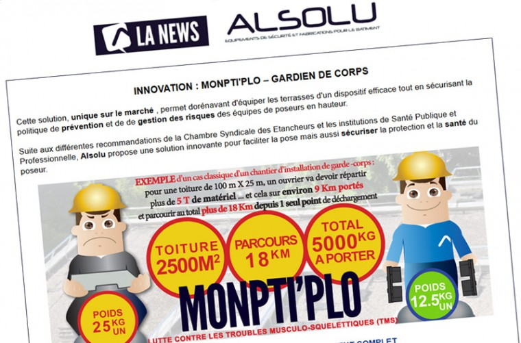 Newsletter ALSOLU – Juin 2014