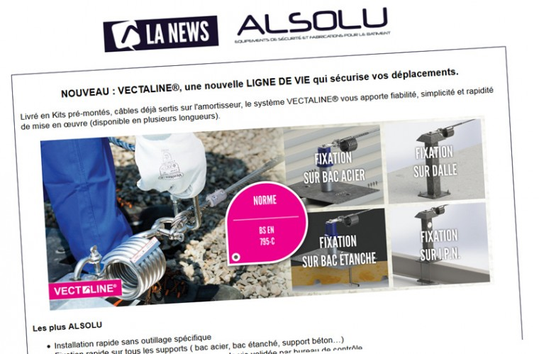 Newsletter ALSOLU – Septembre 2014