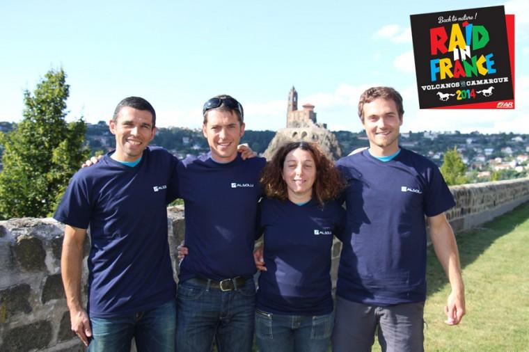 Alsolu apporte son soutien à Nose (Haute-Loire) dans une aventure sportive et humaine : Raid In France