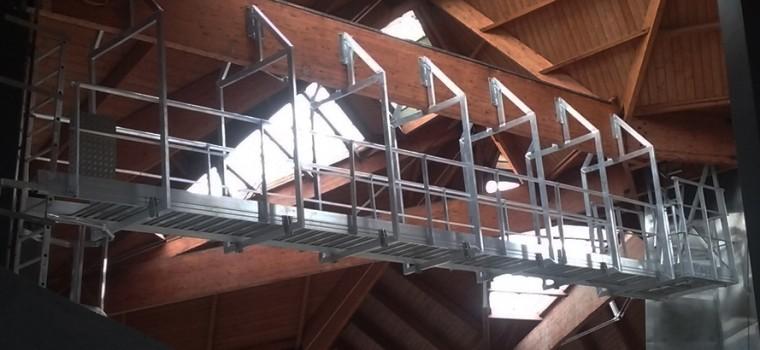 Newsletter – Info produit – Vectaway® – Passerelles et escaliers techniques sur mesure