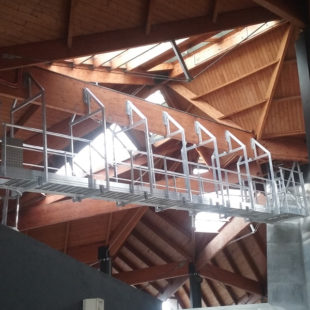 Passerelle suspendue – Fabrication spéciale