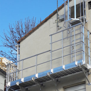 Passerelle de maintenance VECTAWAY sur mesure