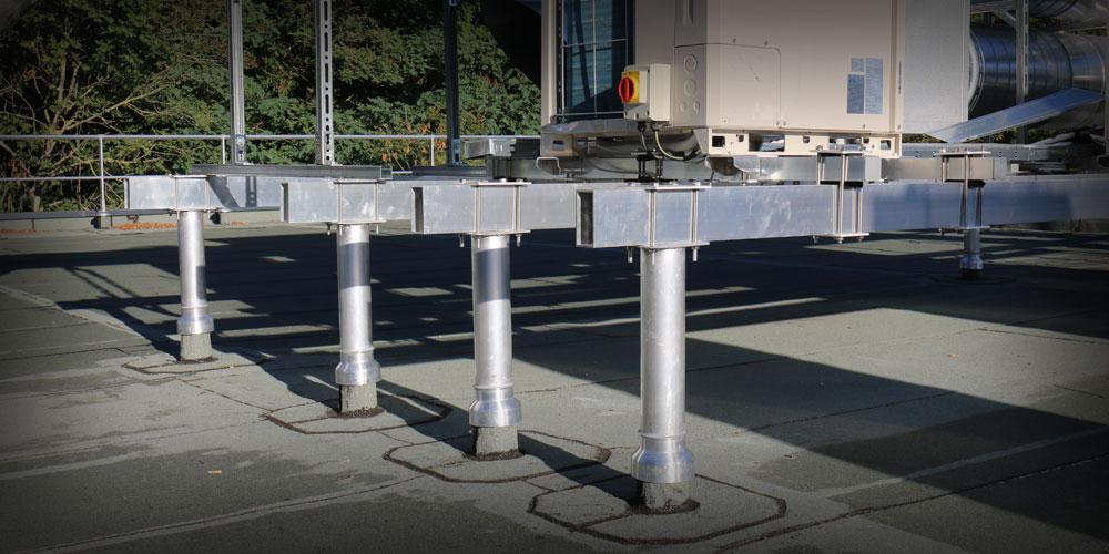 Structure porteuse pour matériel technique – VECTAROOF®