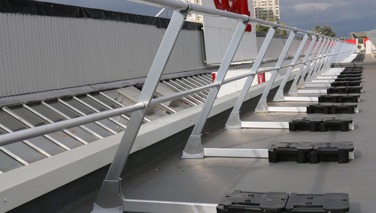 Freestanding guardrail VECTACO®