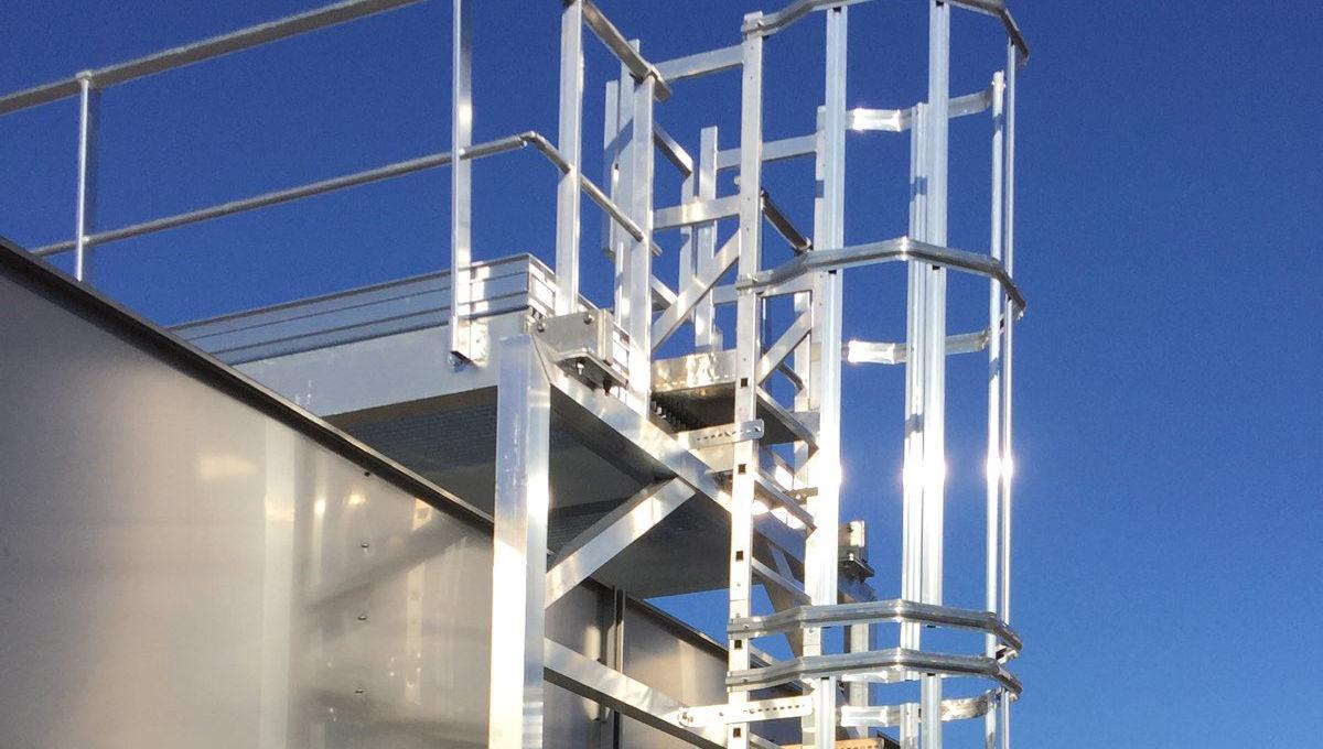 Cage ladder – VECTALADDER®