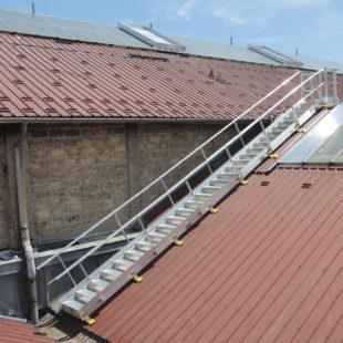 VECTAWAY Escaleras técnicas 20° hasta 36°