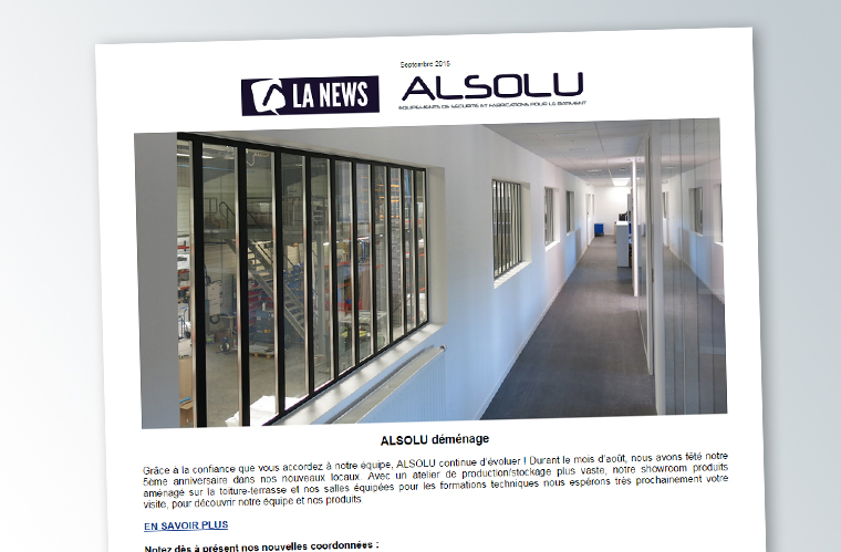 Newsletter ALSOLU – Septembre 2015
