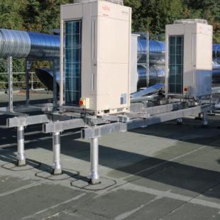 Structure porteuse fixe pour matériel technique VECTAROOF®