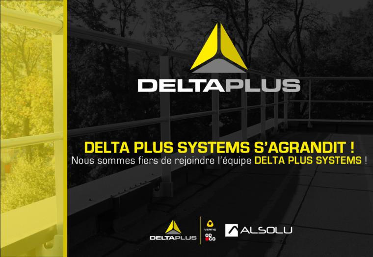 ALSOLU rejoint les équipes de DELTA PLUS SYSTEMS !